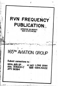 RVN Frequency Publication - 11May69