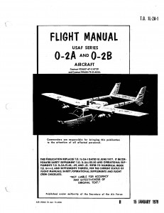 T.O. 1L-2A-1 (O-2A & O-2B Flight Manual)