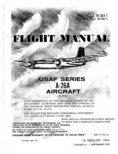 T.O. 1A-26A-1 (A-26A Flight Manual)