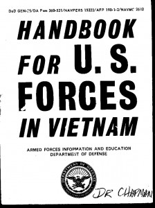 Handbook for U. S. Forces in Vietnam